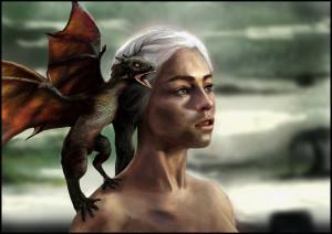 Khaleesi by Karamissa