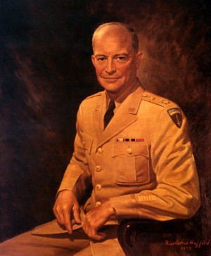 General of the Army Dwight D. Eisenhower, Chief of Staff of the United ...