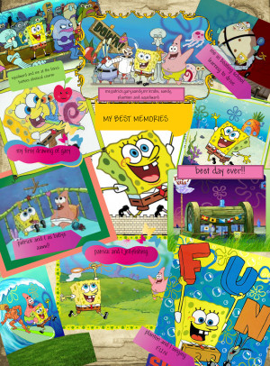 Best Spongebob Pictures Spongebob's best memories!