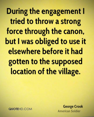 George Crook Quotes