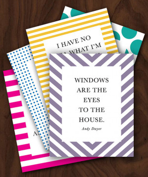 Parks and Recreation Andy Dwyer Quotes 5x7 Card Set