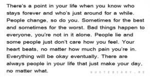 What comes around goes around..