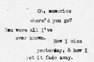 Panic! At The Disco - MemoriesSubmitted by ahundredseparatelines ...