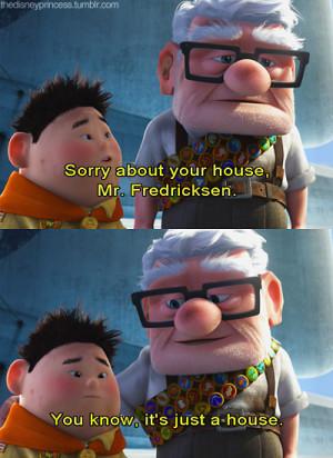 Pixar Up Quotes Up. # pixar. # quote