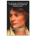 Feminist Mary Wollstonecraft Mini Poster Print