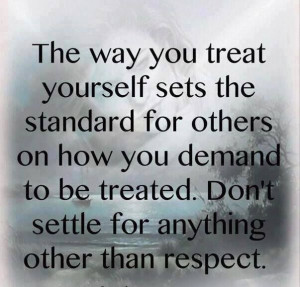Self worth and self respect.....