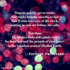 forough farokhzad More