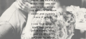 The Vow Love Quote About