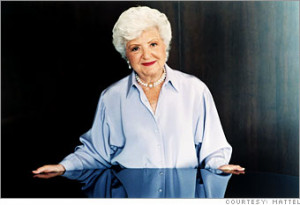 RUTH HANDLER, THE INVENTOR OF BARBIE :D (MASNIZZA AND ZAZA)
