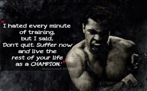 Homepage » inspirational & quotes » muhammad ali motivation HD ...