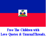 Free The Children with Love Quotes & UnusualThreads -- watch the video