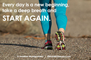 Image Quote - Every day is a new beginning, take a deep breath and ...
