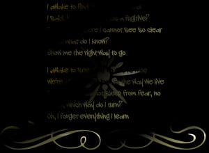Spies - Coldplay Song Lyric Quote in Text Image
