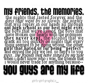 Quotes About High School And Friendship