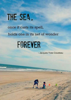 The sea quote