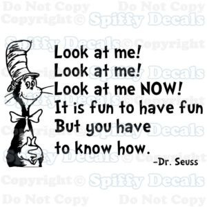 quotes from the cat in hat printable quotesgram