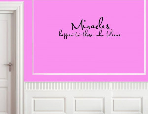 HAPPEN Vinyl wall lettering sayings home decor quotes art