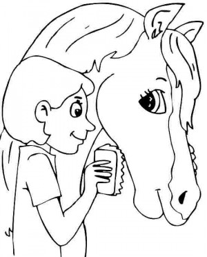 Horse Animal Coloring Pages
