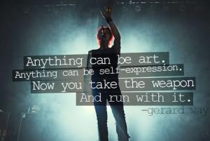 MCR #MyChemicalRomance #sayings #gerardway