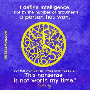 Nonsense : Quotes
