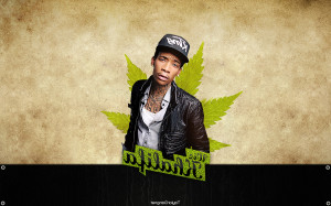 Wiz Khalifa Weed Ozgahqz E Wallpaper with 1280x800 Resolution