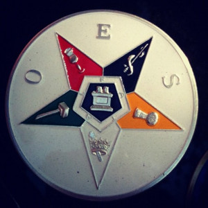 Order of the eastern Star Car Emblem, Brooklyn