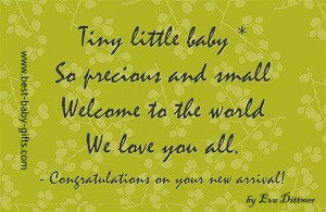 Newborn Baby Quotes And Poems Here is a short new baby poem
