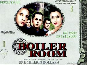 Boiler Room Movie Poster مشاهدة فيلم 2000 boiler room