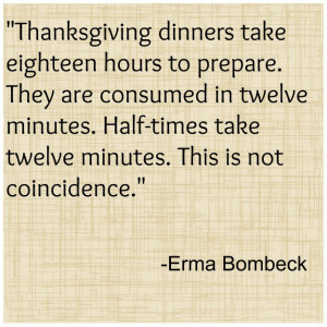 Do you have a favorite Thanksgiving quote? Share it with me!