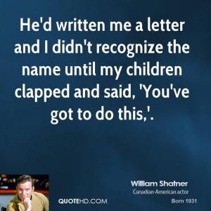 William Shatner Quotes