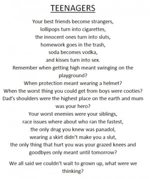 Growing up Quotes for Teenagers http://www.tumblr.com/tagged/teen ...