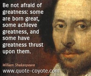 William Shakespeare Quotes...