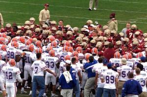 look at the Florida Gators-Florida State Seminoles football rivalry