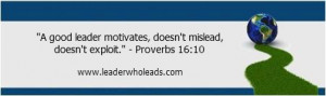 biblical leadership quotes old testament the message bible