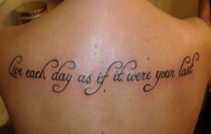 Amazing tattoos quotes