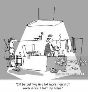 Staying Late At Work cartoons, Staying Late At Work cartoon, funny ...