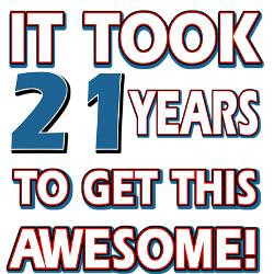 21_year_old_birthday_gift_ideas_greeting_card.jpg?height=250&width=250 ...