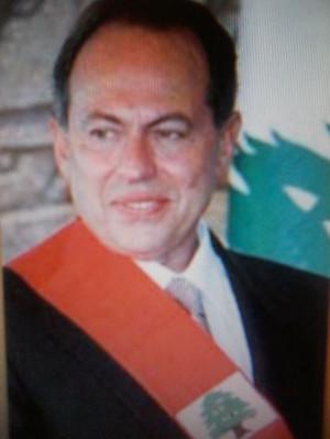 President Emile Lahoud of Lebanon 1998 - 2007. half armenian, mother's ...