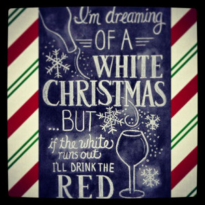 Christmas wine quotes funny