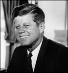 president john f kennedy president from 1961 to 63