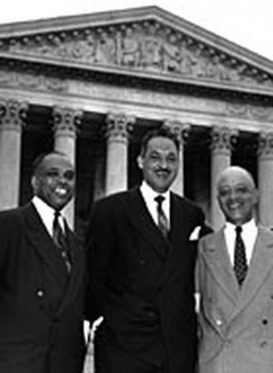 Thurgood Marshall And 'Brown V. Board Of Ed.'