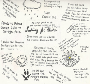 ... image include: looking for alaska, john green, quotes, book and alaska