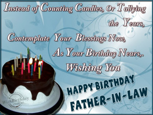 Birthday Quotes For Father In Law ~ Birthday Wishes for Father In Law ...
