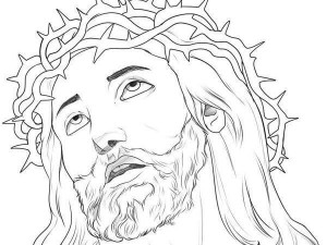 How to Draw Jesus Christ Drawings Pictures
