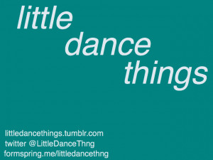 little dance things all the little things that make dancers smile ...