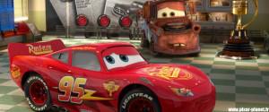 Lightning McQueen: Yeah, hi. this is Lightning McQueen.