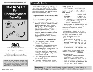Apply Unemployment Benefits