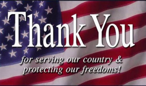 you made in honor and duty to our country are worthy of praise. You ...