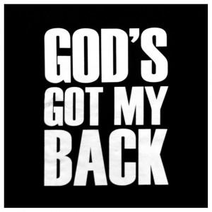 Underground: God's Got My Back Tee - $ 22.00