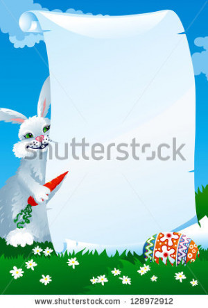 Funny Easter Card Spring...
